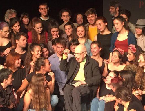Homenaje a Peter Brook: un día histórico lleno de emoción.